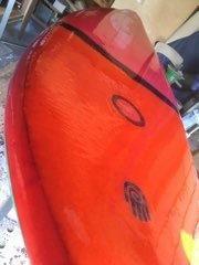 EPSサーフボード自作 シングルフィン⑤ デッキコート - 海ぼうずのエコエゴ日記
