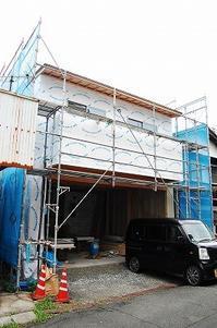 卯之町ハイツ新築工事現場レポ190828 - yuuki yakushijinの「jealousyを微笑みにかえて・・ 2019」