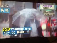 【北部九州の大雨】 - お散歩アルバム・・冬の足音