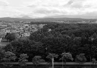 恵庭岳や藻岩山にかかる雨雲 - 照片画廊