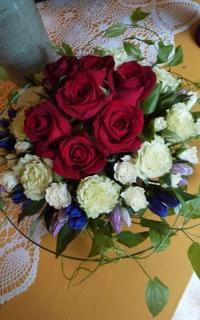 🌹大きなグラスベースに薔薇の魅力💞 - Flower ID. DESIGN