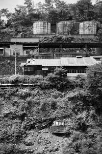 削られた山 - 節操のない写真館