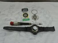 時計電池交換(カシオ) - ラジコン飛行機とお百姓
