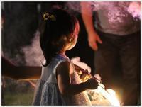 孫たちの、大分5泊6日の夏休みその7花火はきれいだけど、ちょっと緊張もするね~( *´艸`)クスクス - さくらおばちゃんの趣味悠遊