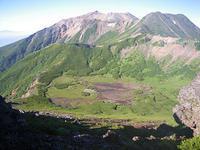 御嶽山継子岳、四の池、三の池 - Team Kozaemon
