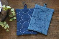 藍染めとまん丸模様 - キラキラのある日々