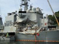 米イージス艦の見張り不十分米兵死亡事故で運輸安全委報告書 - 船が好きなんです.com