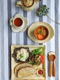 ワンプレート朝ごはん - 陶器通販・益子焼 雑貨手作り陶器のサイトショップ 木のねのブログ