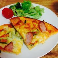 子供と手作り、ピザとマフィン - ひよこ日和。