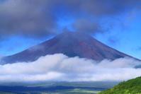 令和元年8月の富士(25)山中湖夏雲湧く富士 - 富士への散歩道 ~撮影記~