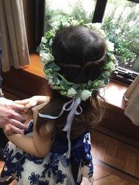 ブライダル花冠 - Ikuko's decoroom