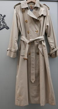一枚袖 BURBERRY coat - carboots