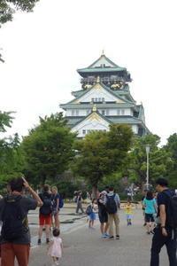 お城めぐり関西旅行記8~大阪城でけんかしてカニで仲直り~ - 美鈴とトラと私とお庭