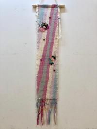 飾って素晴らしいタペストリーと暖簾、持って嬉しいバッグ@みんなの作品 - 手染めと糸のワークショップ