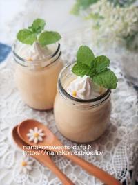 カスタードプリン - nanako*sweets-cafe♪