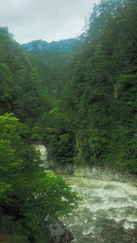 欅平黒部渓谷台風10号接近 - 風の香に誘われて 風景のふぉと缶