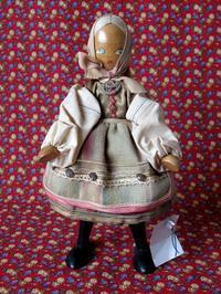 ポーランドの民族衣装の木製人形 - Der Liebling ~蚤の市フリークの雑貨手帖3冊目~