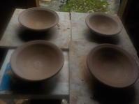 豆皿を作る(No.84) - 薪窯冬青 犬と山暮らし