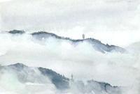 諏訪の山並み - ryuuの手習い