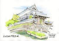 勝竜寺城 - 風と雲