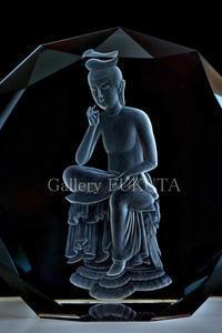 本日から『花岡和夫グラヴィール展』開催です。 - Gallery福田