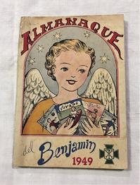 Book 319 雑誌Almanaque  Benjamin 1949 - スペイン・バルセロナ・アンティーク gyu's shop