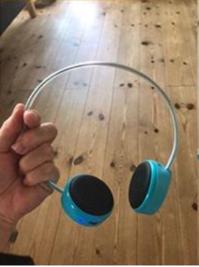 子供用コードレスイヤホンで、聴覚ダメージリスクを軽減しています - 初ブログですよー。
