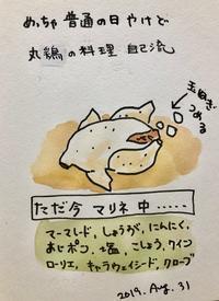 丸鶏 料理する - 一天一画   Yuki Goto