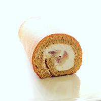 イチジクのロールケーキ - 手作りケーキのお店プペ
