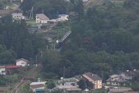 濃緑の横瀬川橋梁に白い汽笛- 2019年残暑・秩父鉄道 - - ねこの撮った汽車