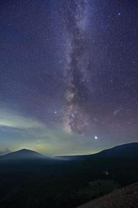 岳霧まとう夜 - 四季星彩
