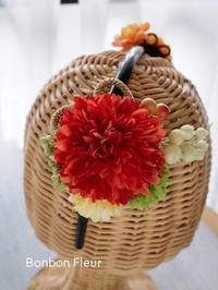 セミオーダー七五三髪飾り - Bonbon Fleur ~ Jours heureux  コサージュ&和装髪飾りボンボン・フルール