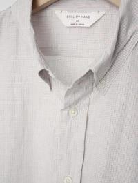 STILL BY HAND グラフチェックBDシャツ - 【Tapir Diary】神戸のセレクトショップ『タピア』のブログです
