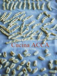 セモリナ粉で手打ちパスタ準備中♪ - Cucina ACCA