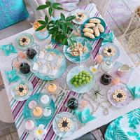フルーツもりもり南国Table & お知らせ - nico☆nicoな暮らし~絵付けと花とおやつ