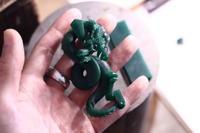 フルオーダートップ龍○○建設/製作過程② - アクセサリー職人 モリタカツヤ MOHI silver works  Jewelry Factory KUROBE