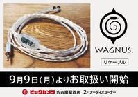 【ビックカメラ名古屋駅西店】9月22日(日) 11:00〜18:00 店舗試聴会を実施いたします!【来店特典あり】 - Musix Cables WAGNUS. Label blog