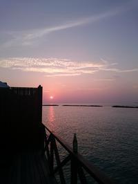 モルディブサンセット - 沖縄の休日2