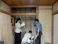 耐震改修工事役所立会い検査 - 松戸市の設計事務所「アトリエ アル・セッション」
