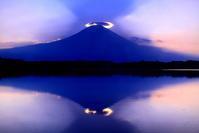 令和元年8月の富士(29)田貫湖の逆さ富士 - 富士への散歩道 ~撮影記~