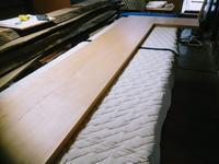 カウンター天板の製作 - woodworks 季の木  日々を愉しむ無垢の家具と小物