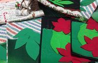 クリスマスタペストリ... - ほっと一息・・~Sakura's Hawaiian QuiltⅡ