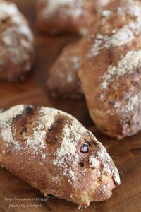 ミックスフルーツとクルミのパン - Lovepan