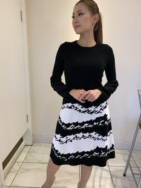 セーターとスカートのコーディネート - ★ Eau Claire ★ Dolce Vita ★