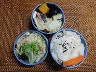 秋鮭と野菜の蒸籠蒸し - 好食好日