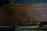 花梨耳付きカウンター - SOLiD「無垢材セレクトカタログ」/ 材木店・製材所 新発田屋(シバタヤ)