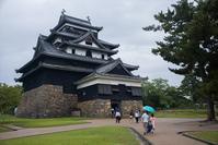 山陰旅行松江城 - 尾張名所図会を巡る