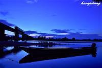 ブルーな日 - 夕暮れと蒸気をおいかけて・・・