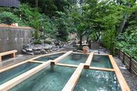 山中温泉湯畑の宿花つばきオープン♪ - 酎ハイとわたし