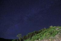 裏山と星空 - みちはた写真館フォトギャラリー